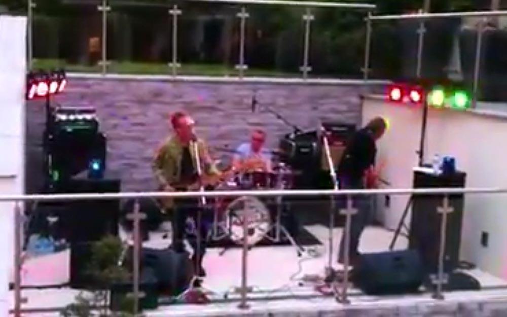 Secret Police outdoor gig