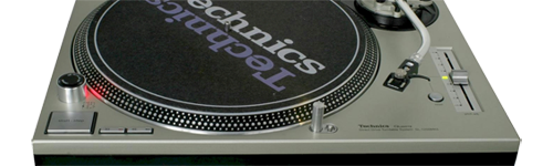 Technics 1210 turntable hire